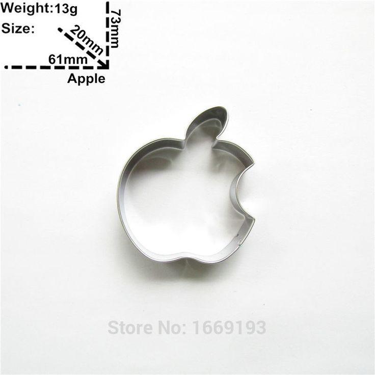 Güzel, Juicy Apple Kek Dekorasyon Fondan Kesiciler Araçları, Bisküvi Pişirme Kalıpları, Doğrudan Satış(China (Mainland))