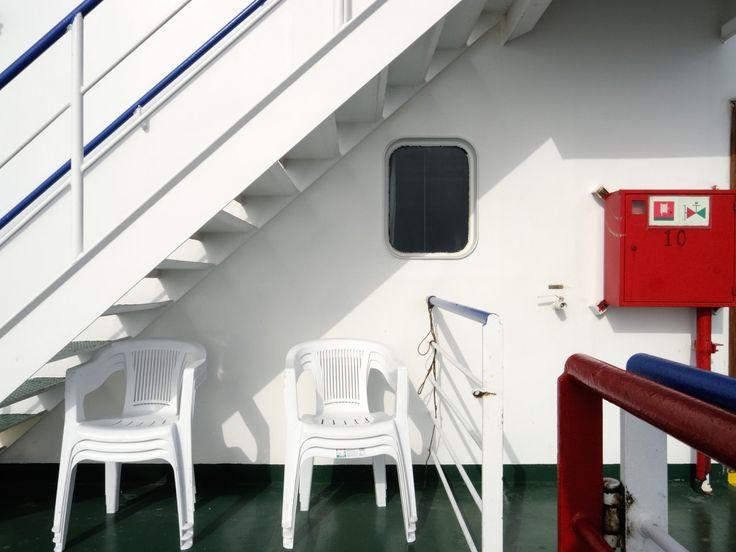 Deck of the ship - RICARDO FRANCONE