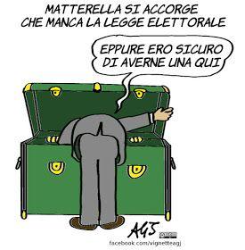 Messaggio di Mattarella ai presidenti di Camera e Senato: fate presto la legge elettorale.