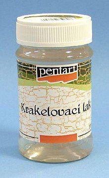 Farby-laky - Krakelovací lak 100 ml Pentart - 5351775_