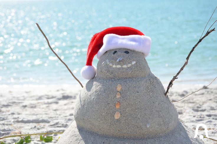 Meanwhile in Florida ... #florida #snowman