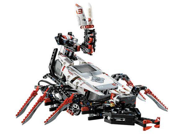 LEGO® MINDSTORMS® EV3 (31313) Creeaza si comanda uimitorii roboti LEGO® MINDSTORMS® EV3 cu senzor tactil, senzor de culoare, senzor infrarosu si 550+ elemente LEGO Technic !