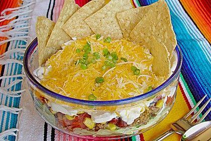 Mexikanischer Schichtsalat (Rezept mit Bild) von sheepia   Chefkoch.de