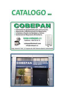 COBEPAN.ES maquinaria y accesorios para Panaderia y Pasteleria.: Catalogo general COBEPAN2015 (portada)