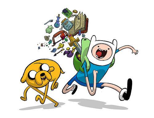Jake & Finn from Adventure Time