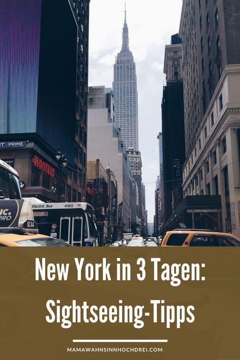 Ein Wochenende in New York