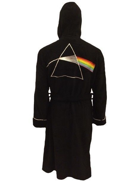 Pink floyd dark side of the moon adult fleece dressing gown bathrobe (mens robe) in Clothes, Shoes & Accessories, Men's Clothing, Nightwear | eBay