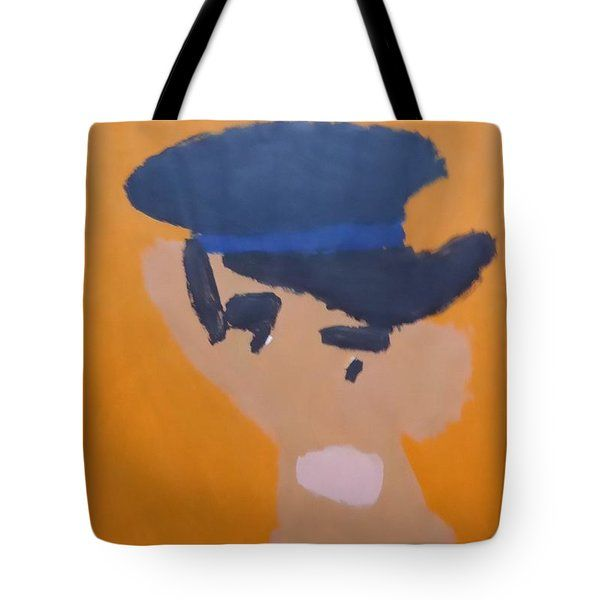 Patrick Francis - Tote Bag featuring the painting Young Man With A Hat 2014 - After Vincent Van Gogh by Patrick Francis