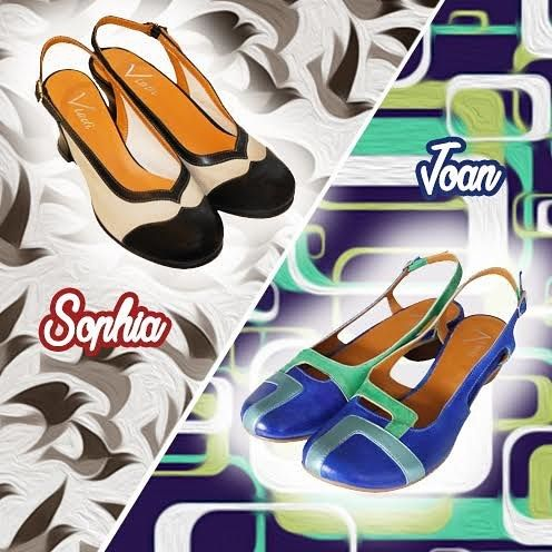 In Vladì Shoes's Retro Collection you can find these and many other inspirations from the past. Would you rather wear Sophia's 1930s style or Joan's Joan's psychedelic pattern inspired by the '60s? 👠 💁