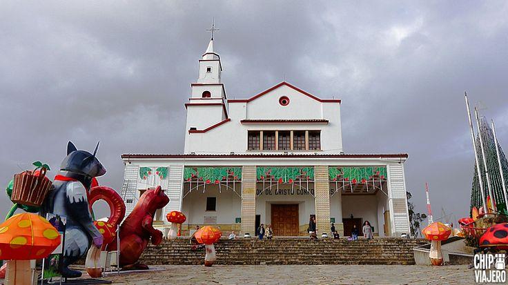 La Basílica Santuario del Señor Caído de Monserrate ⛪✝