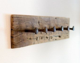 Rustic Wood Towel Rack Large reclaimed towel by TumbleweedCabin