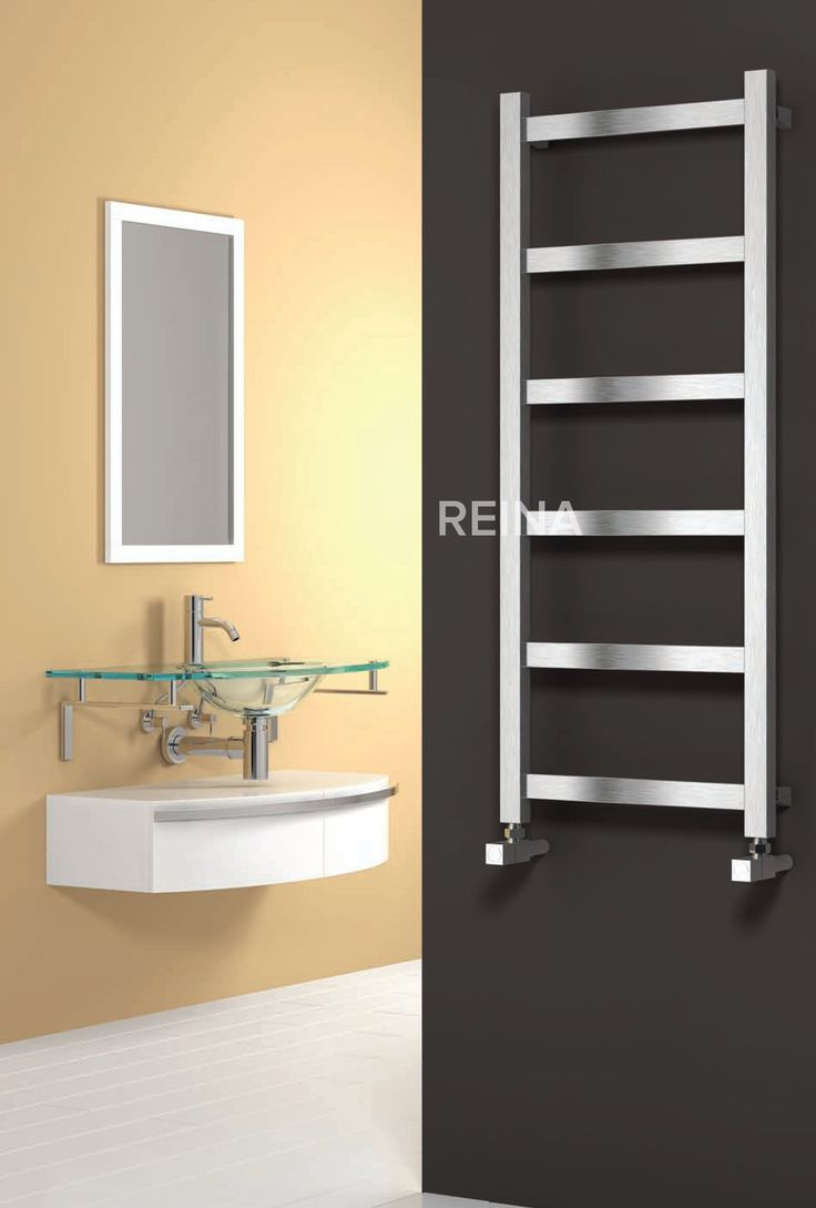 Sale white amp black designer heated towel rails bathroom radiators - The Reina Mina Stainless Steel Designer Radiator Is Finished In A Brushed Satin Finish And As It Is Manufactured From Stainless Steel