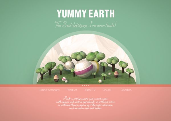Yummy earth candy by sun young park, via Behance