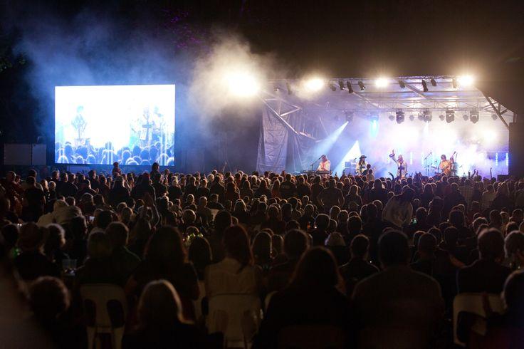 At Heritage Bank Live Concert Series 2012.