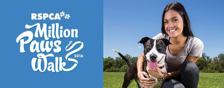 Join the RSPCA Million Paws Walk with your canine companions and show your support for RSPCA animals!   When: Sunday 15 May Where: 22 walk locations across Queensland  REGISTER and FUNDRAISE today! www.millionpawswalk.com.au