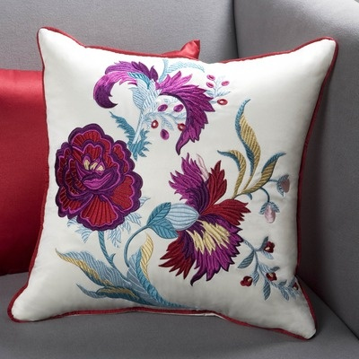 Sandy Wilson China Decorative Pillow III