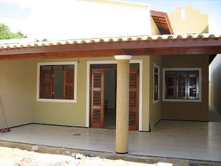 casa com varanda e garagem - Pesquisa Google