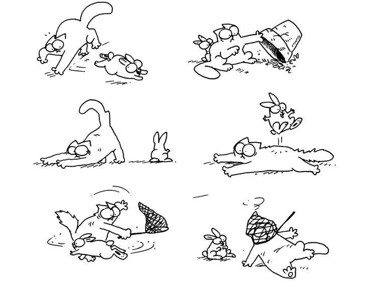 Рисованные мультики комиксы картинки