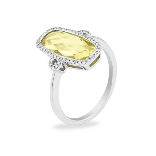 Gold ring with quartz for a sunny day ;) #ring
