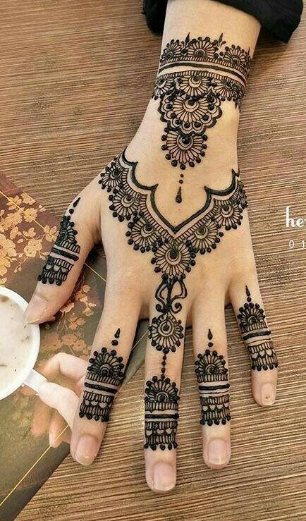 Henna – #Artduhenné #henna #HennéMain #Hennetattoo #Idéeshenné –
