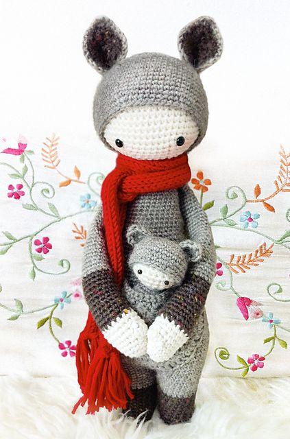 Amigurumi Dolls By Artist Lydia Tresselt : 130 best images about Lalylala on Pinterest Amigurumi ...