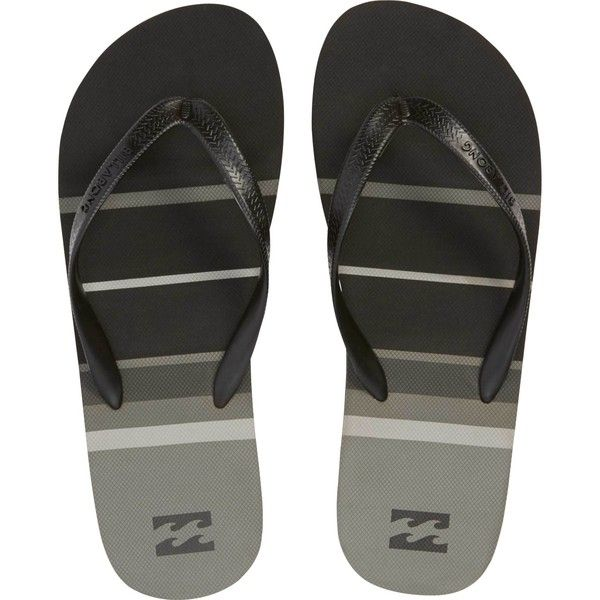 Billabong Unisex Spin Thong Sandal ($22) ❤ liked on Polyvore featuring shoes,  sandals