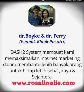Testimoni DASH2 - RosalinaLie.com - dr. Boyke & dr. Ferry