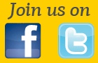 Whats the easiest way to reach us? Join us on Facebook & Twitter for up to date news & offers.
