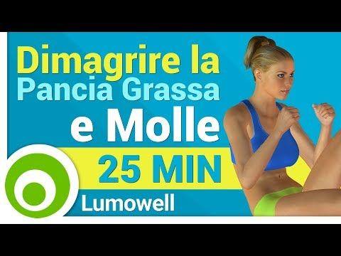 Pancia Grassa e Molle. Esercizi per Dimagrire e Tonificare la Pancia - YouTube