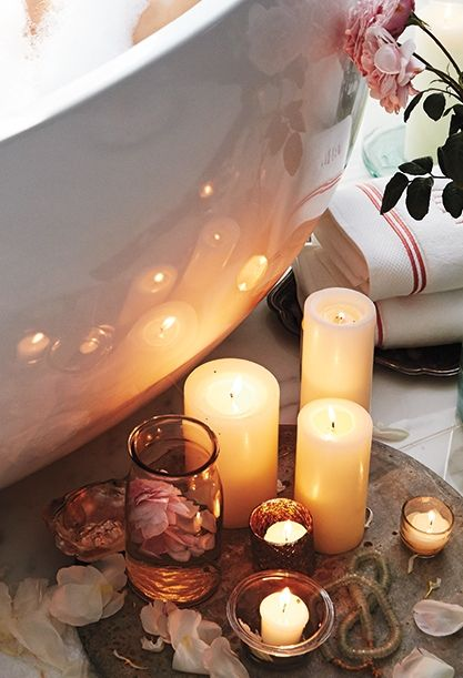 Frontgate Loves Enchantment Click For Tips On How To Make Your Next Bathroom Candlesrelaxing