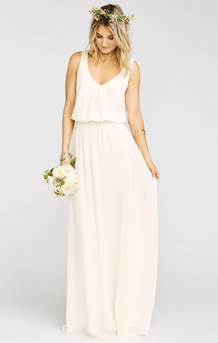 Kendall Maxi Dress ~ Show Me the Ring Crisp | Show Me Your MuMu