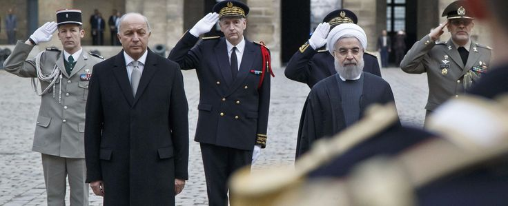 French Jews Slam Iran President's Visit on Holocaust Remembrance Day