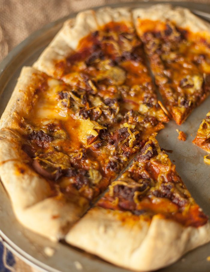 Pizza Hut Stuffed Crust Pizza Vegan Pizza Hut Copycat Recipe The Edgy Veg Recipe Vegan Pizza Recipe Recipes Vegan Pizza