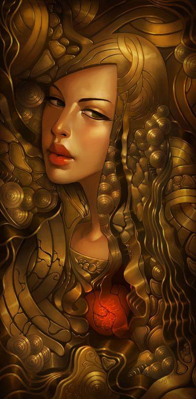 Digital Illustrations by Daniela Uhlig