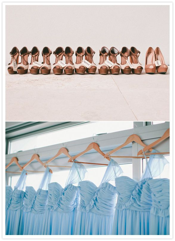 bridesmaid dresses and shoes