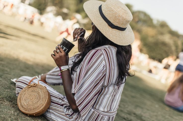 FAITHFULL THE BRAND Tilos Stripe Knotted Jumpsuit | Music Midtown 2017 | MM Cashless - Bank of America | MILLENNIELLE Lifestyle & Fashion Blog