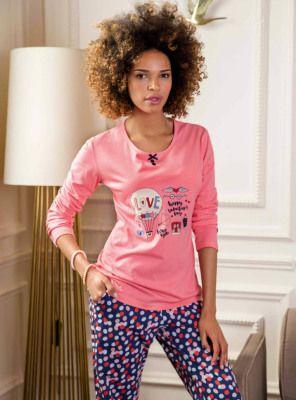 Puantiyeli Pijama Takımı 1070
