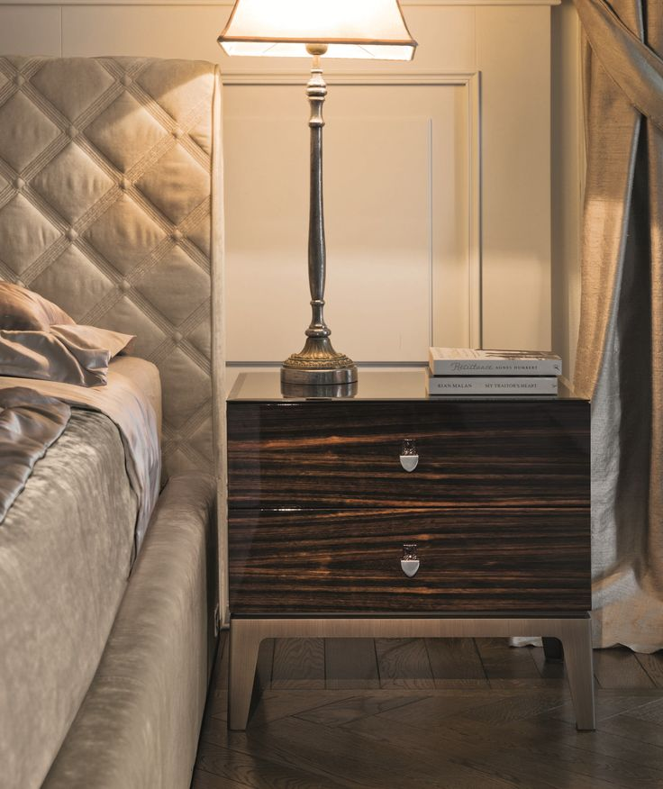 Rialto Double Bed, Glamour Bedroom Design at Cassoni Bedroom - mondo paolo schlafzimmer