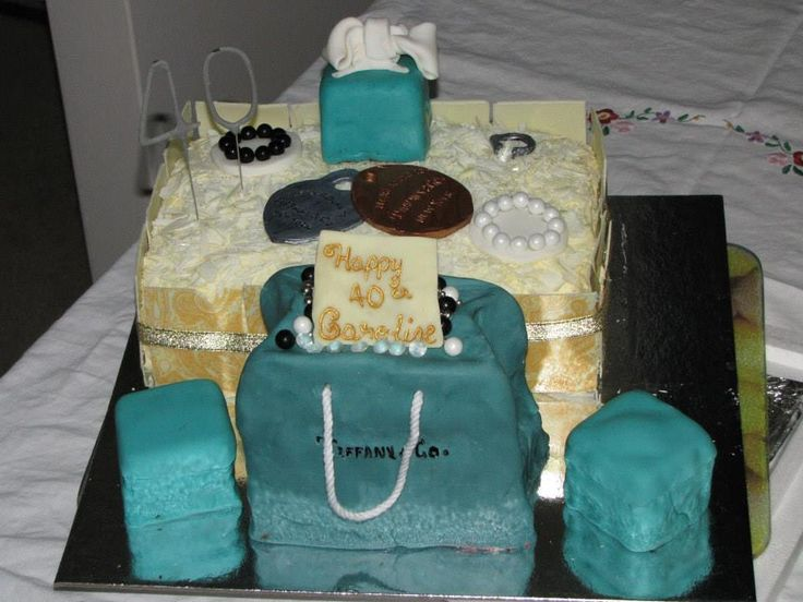 For Caroline's 40th, the Tiffany Cake