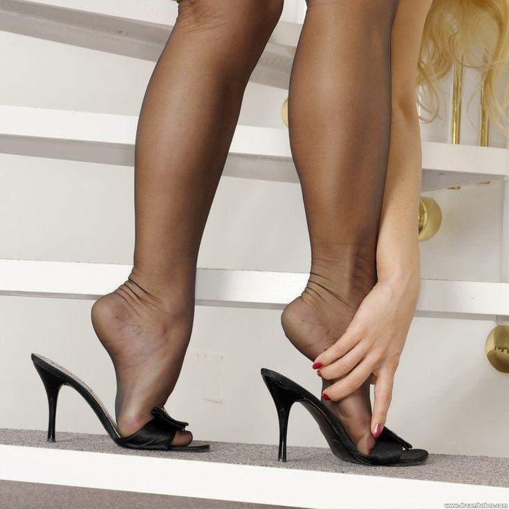 Dixden Nylon Stocking  Nylon Feet  Pantyhose Heels -2059