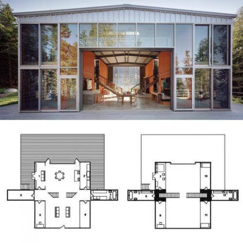 3164 best images about container drawings floor plans on for 12 container house floor plan