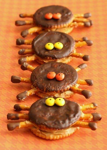 Ritzy halloween spiders