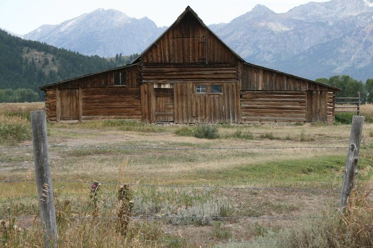 Molton Barn on Mormon Row, Wyoming