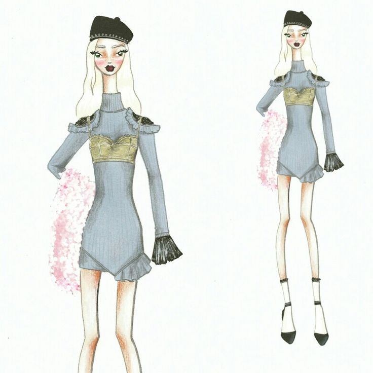 Wonderland (22) Fashion sketch