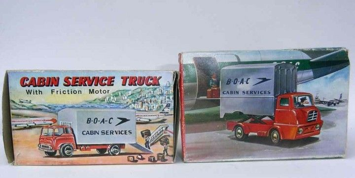 Japanese Bedford TK & unknown Airline Service Vehicle