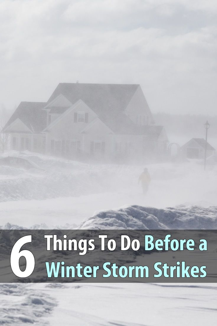 Winter is here. Nights are longer, days are shorter and the temperature is dropping. Before you face a winter storm, get prepared.