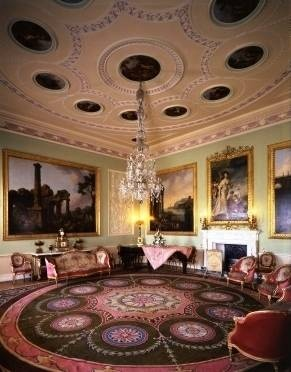 Opera's late great Lord Harewood's home  music room harewood house