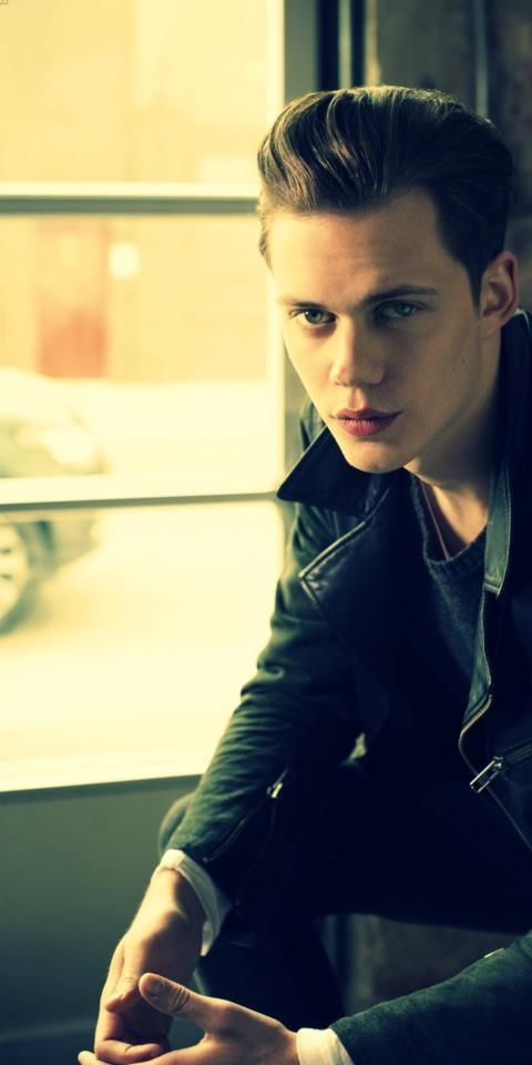 Hemlock grove Ok so I'm torn, half of me loves him and half of me hates him. He's the closest they could find to Evan Peters, and a sad excuse. I hope his acting gets better soon.