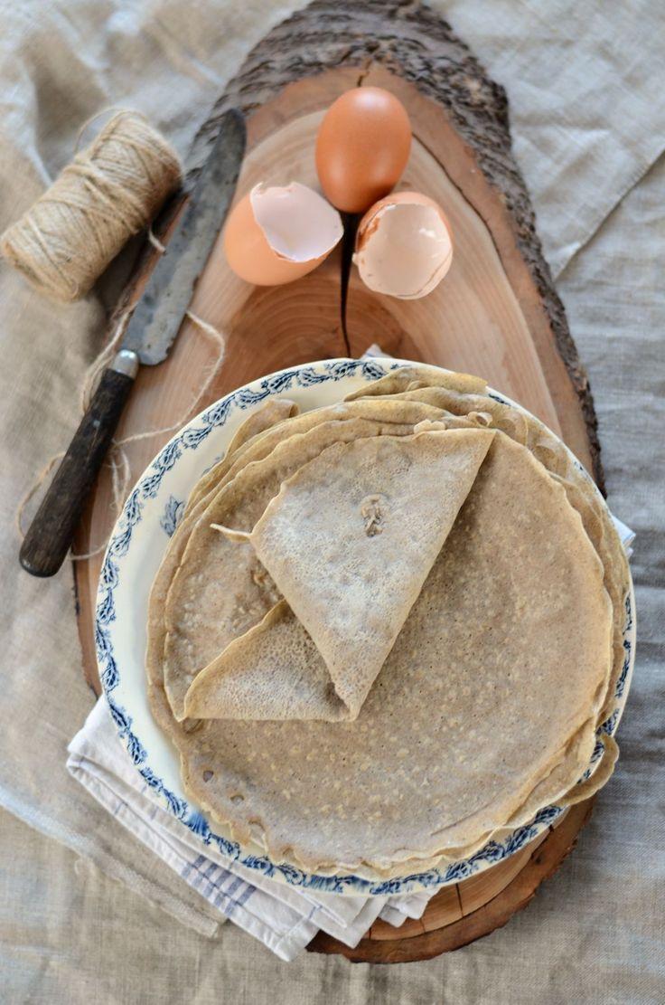 Galette bretonne à la farine de sarrasin {recette végane et sans gluten}