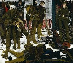 Image result for modern war paintings nash